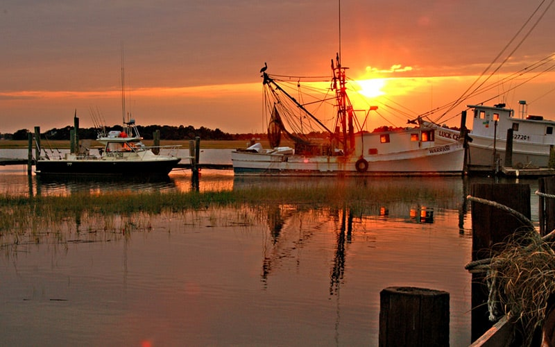 Marsh Sunset in James Island